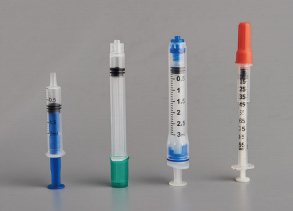 Sterilization methods and characteristics of plastic syringes